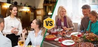 Image result for eating out vs eating in
