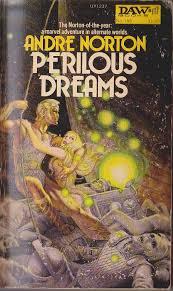 Andre Norton PERILOUS DREAMS book cover scans