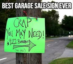 Garage Sale | Funny Pictures, Quotes, Memes, Funny Images, Funny Jokes,  Funny Photos